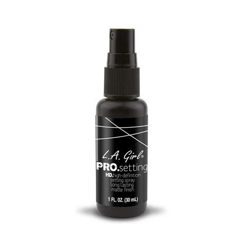 la usa cosmetics la cosmetics pro setting hd matte finish spray la usa
