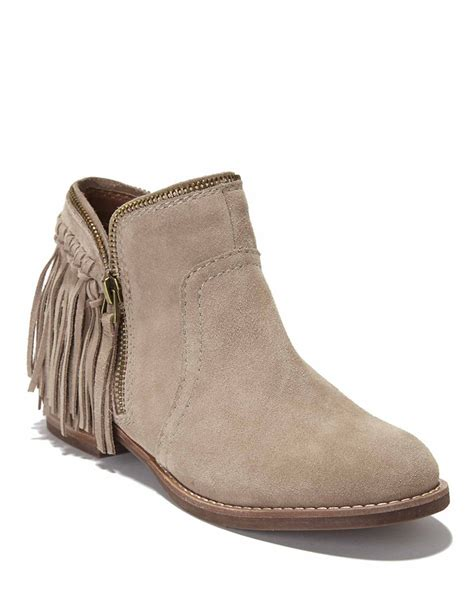 dolce vita ankle boots dv by dolce vita fisher suede ankle boots in beige