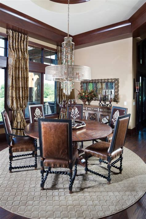 absolutely gorgeous mediterranean dining room designs