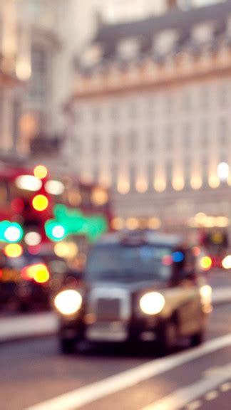 blurry london iphone  se wallpaper