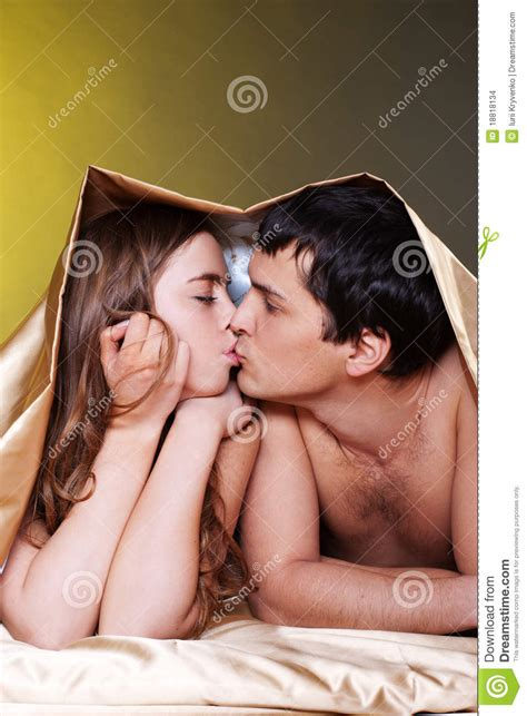 love in bed couple making love in bed stock images image 18818134