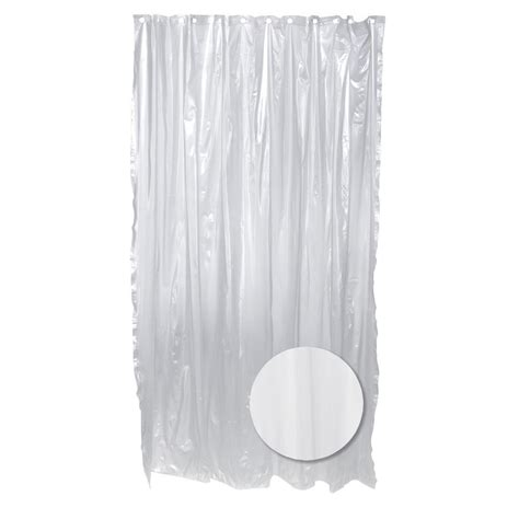 Plastic Shower Liner by Zenna Home 70 In W X 72 In H Vinyl Shower Curtain Liner