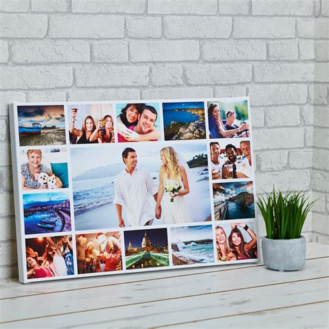 20x20 photo collage design print 20 picture collage frame image collections craft