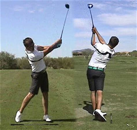 left shoulder pain golf swing left shoulder swing center golf instruction iseekgolf