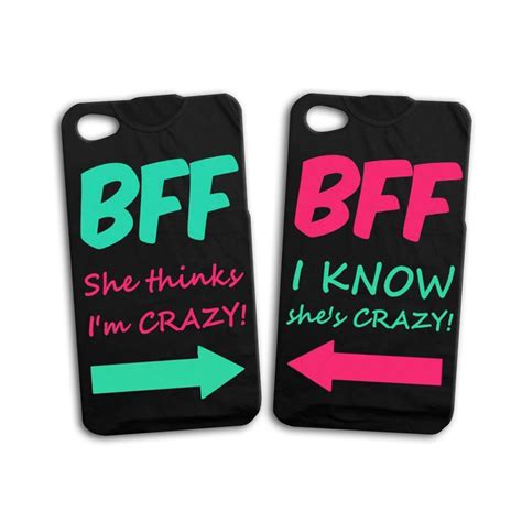 best friend phone cases best friend pair bff iphone ipod black phone cover cool ebay