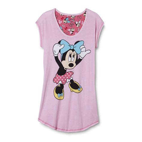Blouse Minnie Mouse disney minnie mouse s plus sleep shirt