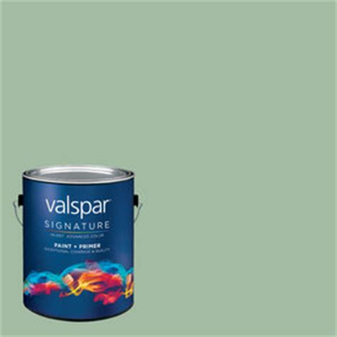 creative ideas for color by valspar 1 gallon interior matte eucalyptus leaf base paint and
