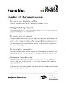 Resume Exles Of Objectives by Exles Of Resumes Resume Social Work Personal Statement Intended For 89 Appealing