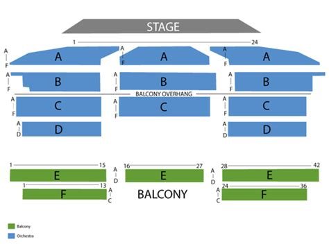Royal Oak Music Theatre Seating Chart & Events in Royal