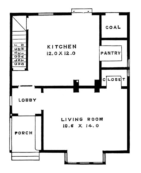 floor plan clipart two story victorian cottage free clip art image old