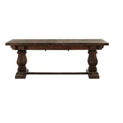 Aldridge Extendable Dining Table by Home Decorators Collection Aldridge Extendable 9 Ft