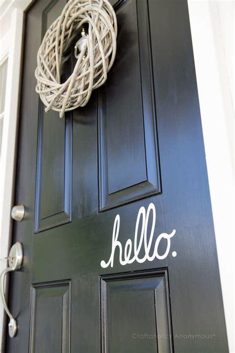 craftaholics anonymous  vinyl   front door