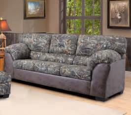 duck commander sofa in camouflage fabric the duck