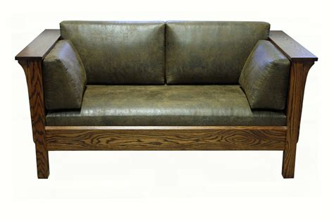 mission loveseat 1875 mission loveseat ohio hardwood furniture
