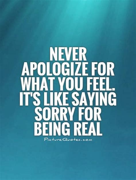 Its To Feel Sorry For Kfed 2 by Image Gallery Never Apologize Quotes
