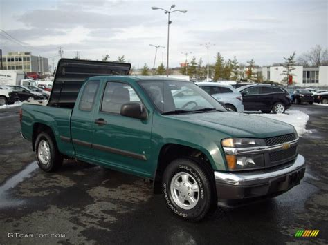 chevy colorado green 2007 woodland green chevrolet colorado work truck extended