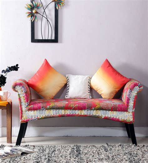 buy settees online buy jackson settee in multi color finish by bohemiana