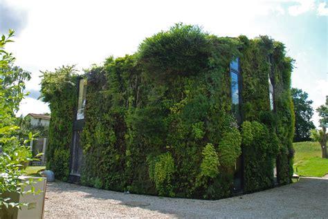 house vertical garden blanc