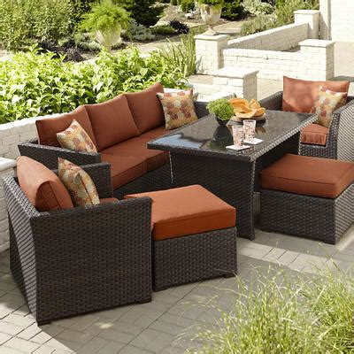 grand resort bedford  pc outdoor seating set  coffee