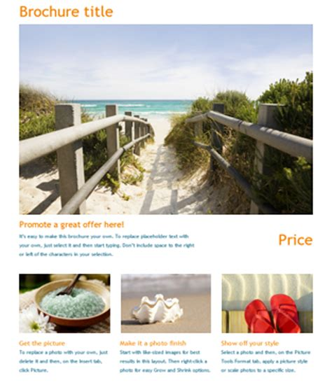 flyer templates doc word document brochure commonpence co ianswer