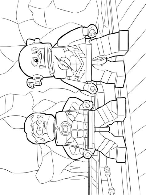 coloring pages lego flash lego flash coloring pages free printable lego flash