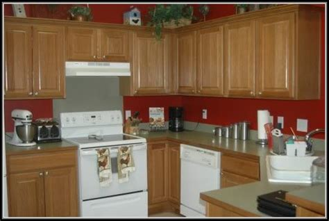 Green Kitchen With Oak Cabinets green kitchen white cabinets cabinet home