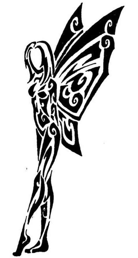 tribal fairy tattoos in a tribal style tattoos tribal