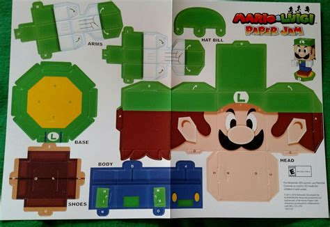 Luigi Papercraft - all gaming all the time today s the release date of