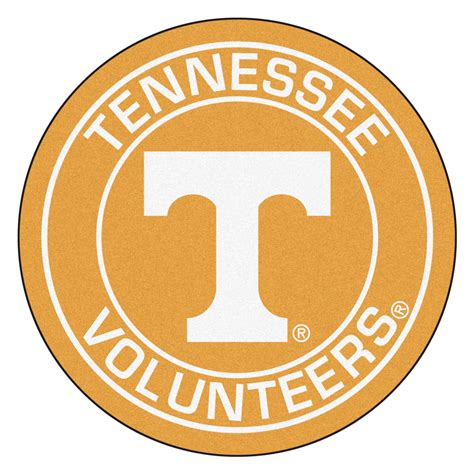 Natural Fiber Rugs by University Of Tennessee Volunteers Logo Roundel Mat 27 Quot
