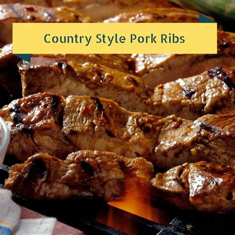 simple country style ribs recipe 17 best images about dishes on