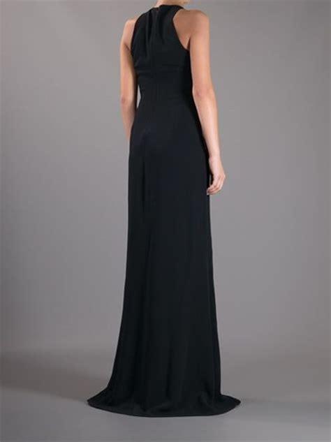 Floor Length Black Dress by Stella Mccartney Lace Floor Length Maxi Dress In Black Lyst
