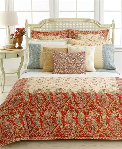 paisley bedding closeout lauren ralph lauren home mirabeau paisley bedding collection