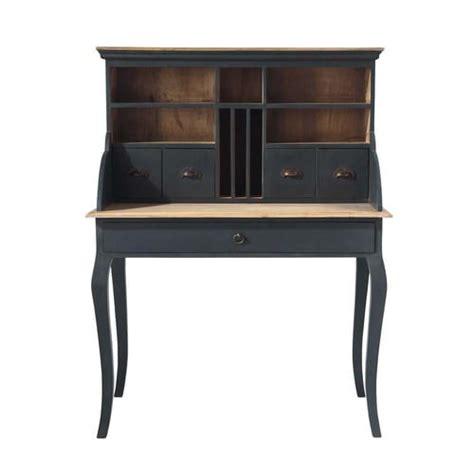 scrivania secretaire scrivania secr 233 taire nera in legno l 102 cm chenonceau