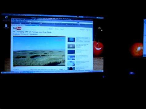 demo of my toshiba satellite m40 laptop with dual screen display running ubuntu 9 10 linux