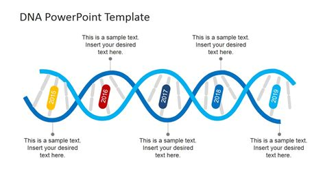 dna strands powerpoint template slidemodel