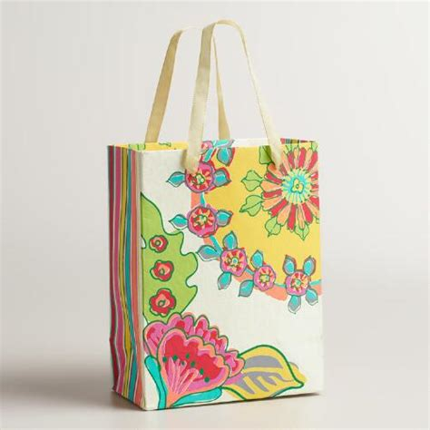 Handmade Goodie Bags - small bettina handmade gift bags set of 2 world market
