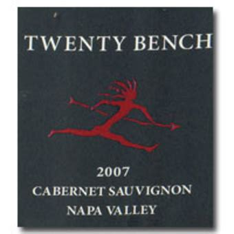 twenty bench wine 2007 twenty bench cabernet sauvignon wine library