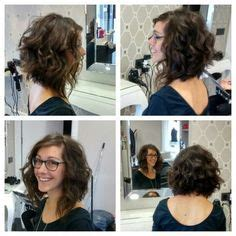 talked me into a perm image result for stacked spiral perm on short hair hair