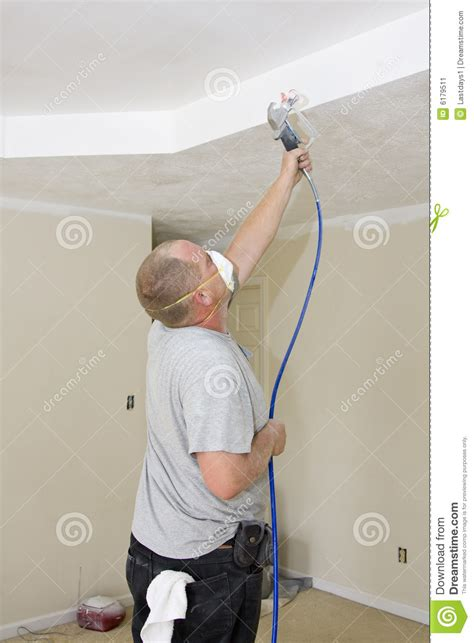 spray painter contract painter spray painting stock image image 6179511