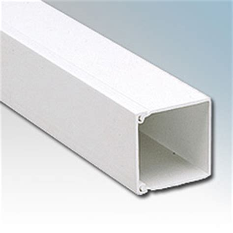 pvc bench trunking gilflex white mini trunking 50mm x 50mm 3m length gt8whi