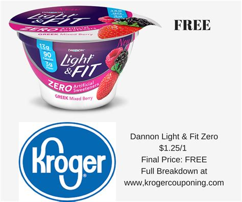 light and fit zero yogurt dannon light and fit greek yogurt barcode