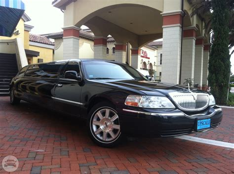 Limo Ride by Lincoln Towncar Stretch Limousine Orlando Limo Ride