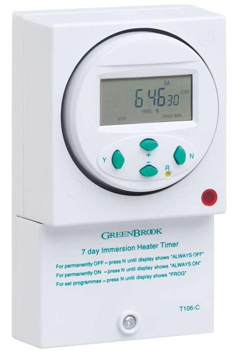 Digital Timer 24 Hours Immersion Heater Timer digital immersion water heater timer switch 7 day 24 hour surface mounted t106 c digital