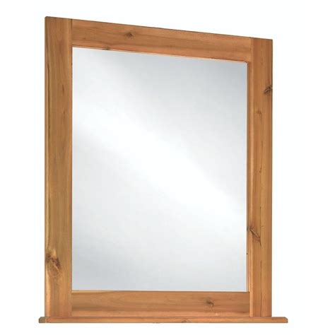 home decorators collection mirrors home decorators collection bredon 34 in l x 30 in w framed vanity wall mirror in rustic