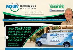 Plumbing Sarasota by Aqua Plumbing Air On Vico Ct In Sarasota Fl 941 306