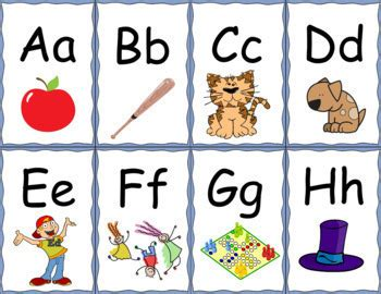 Fundations Letter Cards