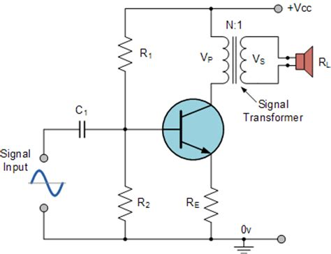 single transistor lifier gain class a single transistor with output transformer how much gain