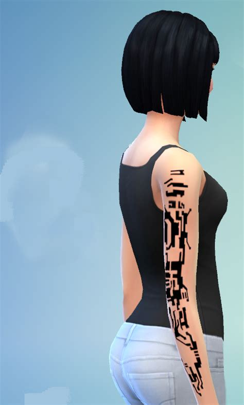 mirrors edge tattoo mod the sims mirror s edge arm tattoos