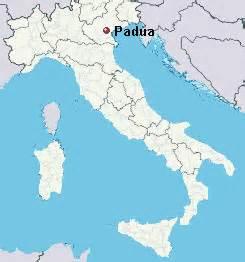 Padova Italy Map by Padua Italy Map