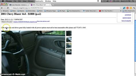 Craigslist Port St Cars craigslist port st used cars and trucks by owner